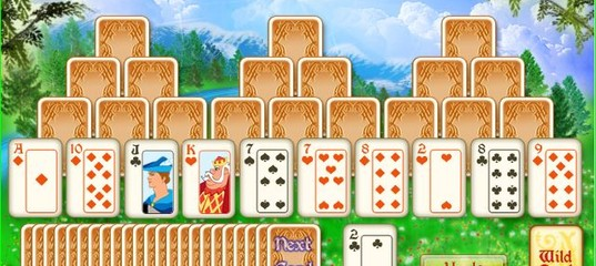 Игра Солитер - Магическая башня