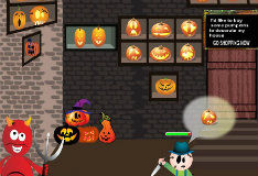 Игра Хэллоуинский магазин