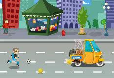 Игра Мобильный футбол
