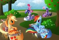 Игра Гонки на пони