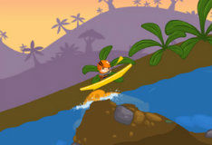 Игра Вверх по реке на каяке