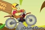 Игра Мотоцикл в джунглях