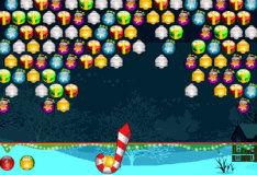 Игра Взрываем шарики на Рождество