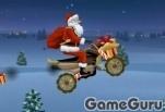 Игра Санта мотоциклист