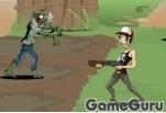 Игра Зомби истребитель