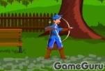 Синий стрелок