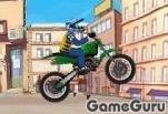 Игра Веселый мотоцикл