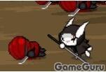 Игра Пони Флатершай спасает кроликов