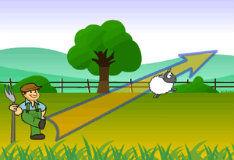 Игра Сбей овцу
