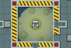 Игра Робот куб спасает галактику
