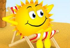 Упавшее солнце