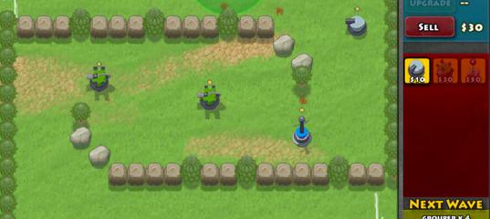 Игра Атака пингвинов 2: защитные башни