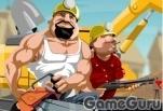 Игра Драка строителей