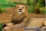 Игра Побег из клетки льва