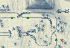 Игра Бумажный поезд