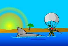 Акула мегалодон