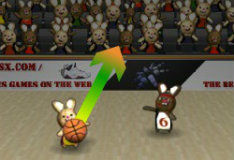 Игра Кролики баскетболисты