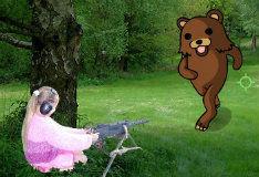 Игра Отстрел медведей