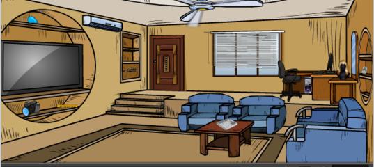 Игра Побег из виртуальной комнаты
