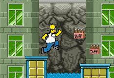 Игра Приключения Симпсонов
