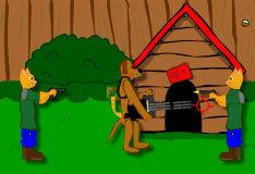 Игра Ручная пушка Рекса