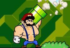 Игра Супер базука Марио