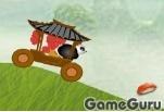 Игра Кунг-фу панда: сумашедший водитель