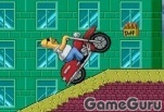 Игра Мотоцикл Гомера