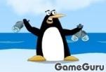 Голодный маленький пингвин