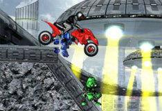 Игра Робот мотоцикл