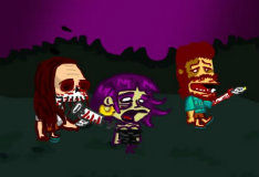 Игра Пустоголовые зомби