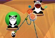 Игра Накорми панду