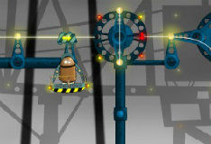 Игра Робот на рельсах