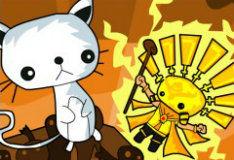 Игра Кот бог против короля солнца