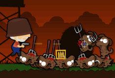 Игра Ночью на ферме