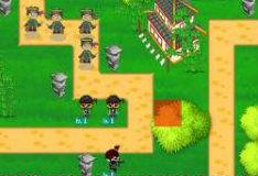 Игра Ниндзя против пиратов 3