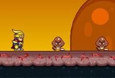 Игра Нитро на огненной земле