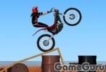 Игра Горящий мотоцикл