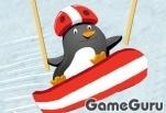 Игра Пингвиний спуск 2