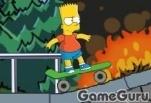 Игра Скейт Барта