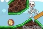 Игра Пушка для скелетов