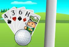 Игра Солитер и гольф