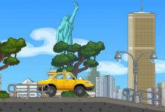 Игра Желтый автомобиль