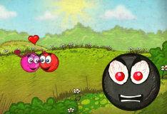 Игра Красный мяч 3