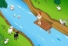 Игра Перевези козу