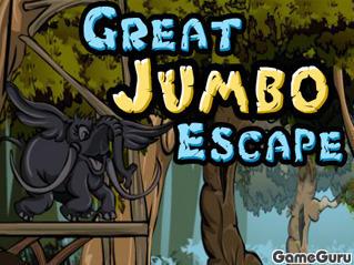 Игра Грандиозный побег Джумбо