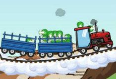 Игра Поезд - трактор