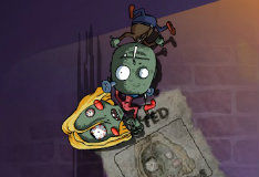 Игра Размажь зомби