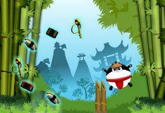 Игра Панда-самурай