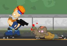 Игра Зомби город